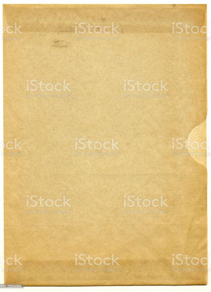 Glassine Negative Holder stock photo