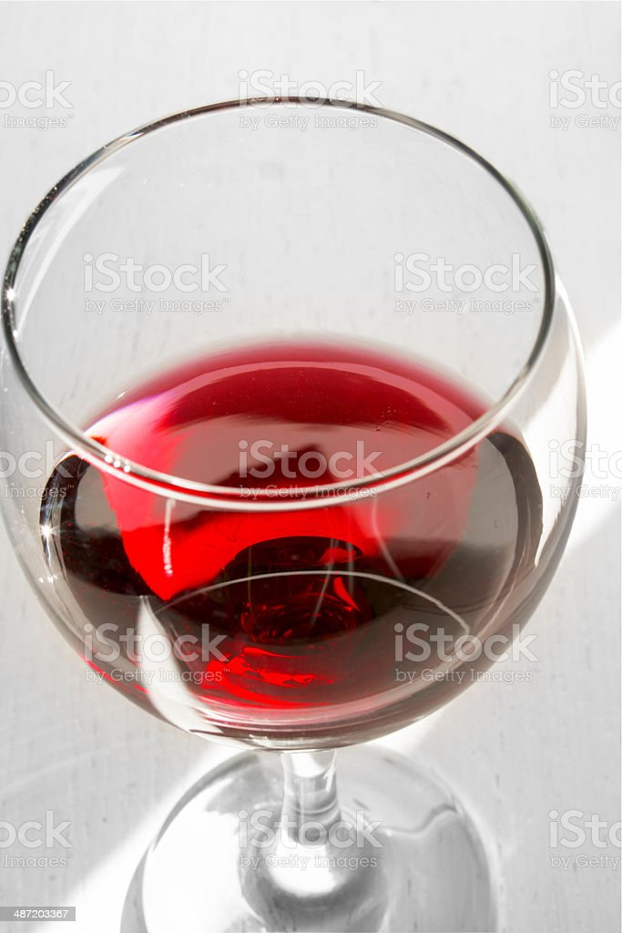 Glassof red wine royalty-free stock photo