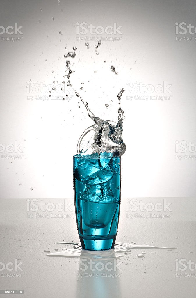 glassofwater2 royalty-free stock photo