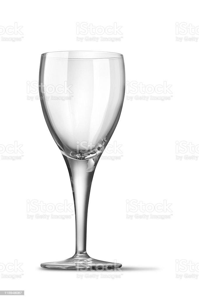 Glassware: Wine Glass royalty-free stock photo