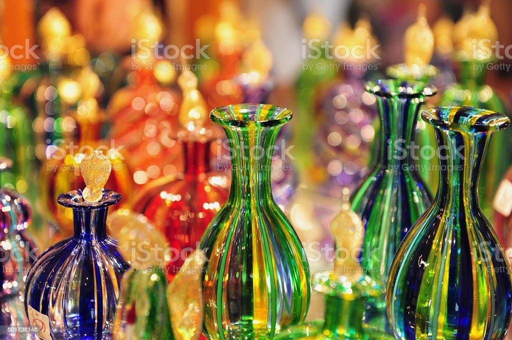 Glasswork on Murano Island, Italy stock photo
