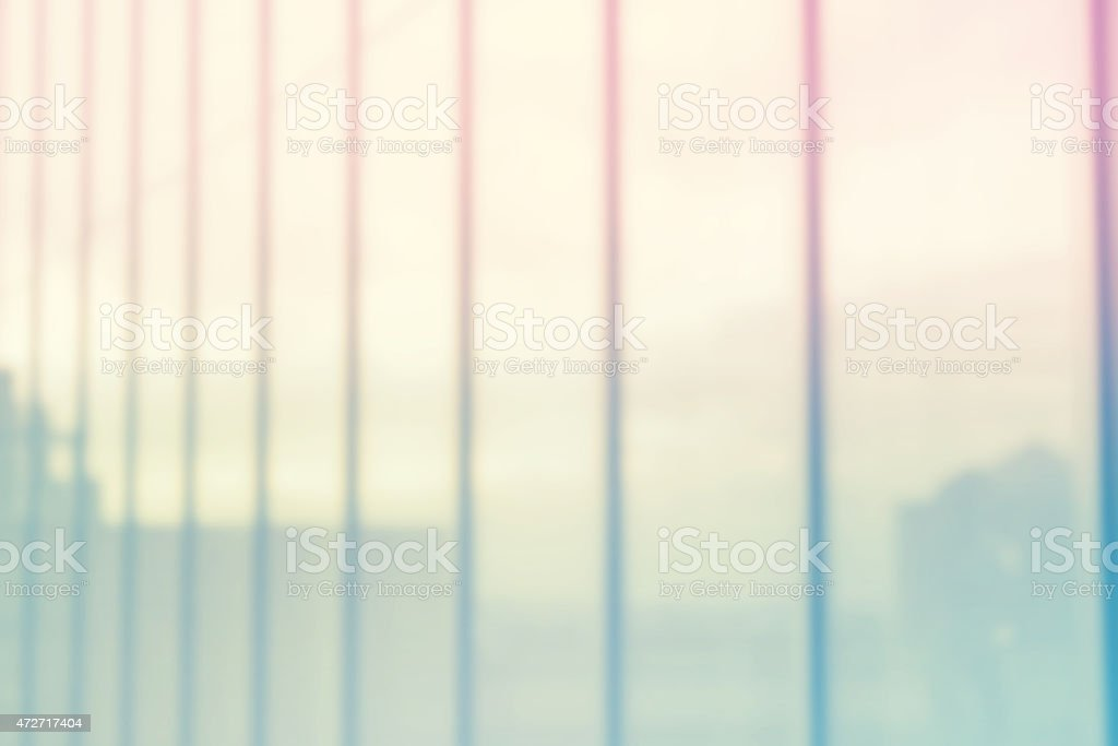 Glassy window of modern office building stock photo