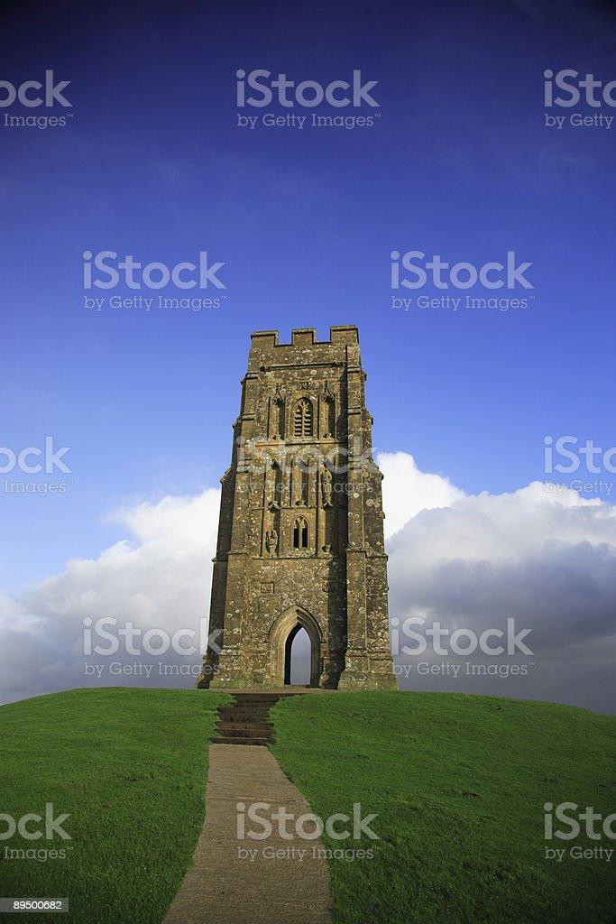 Glastonbury Tor stock photo