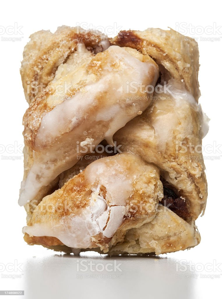 glazed apple pastry royalty-free stock photo