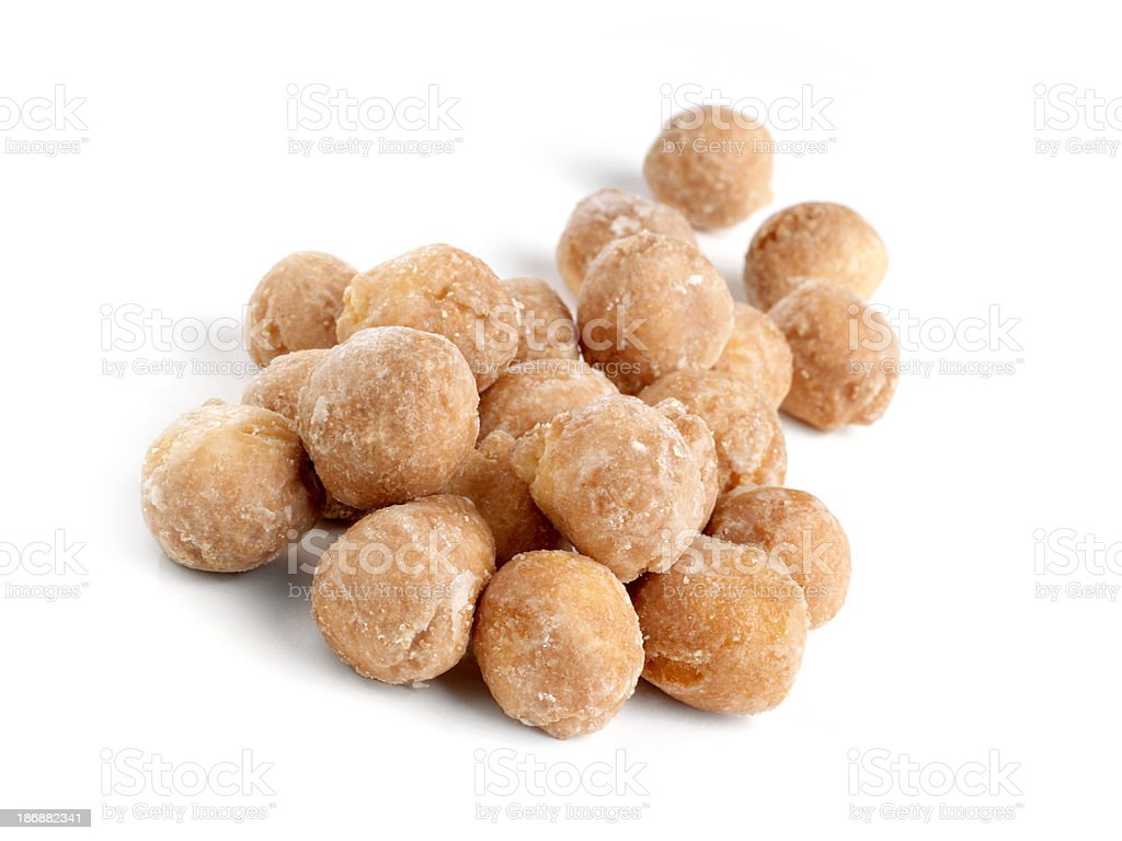 Glazed Doughnut Holes stock photo