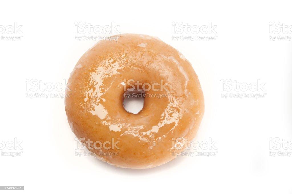 Glazed Doughnut stock photo
