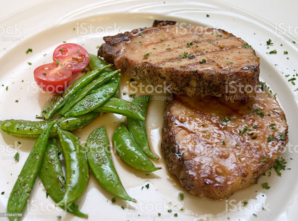 Glazed Pork royalty-free stock photo