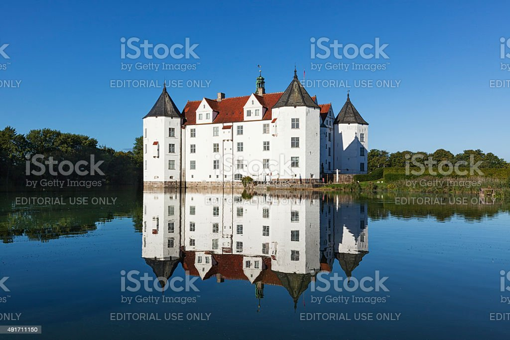 Glücksburg Castle stock photo