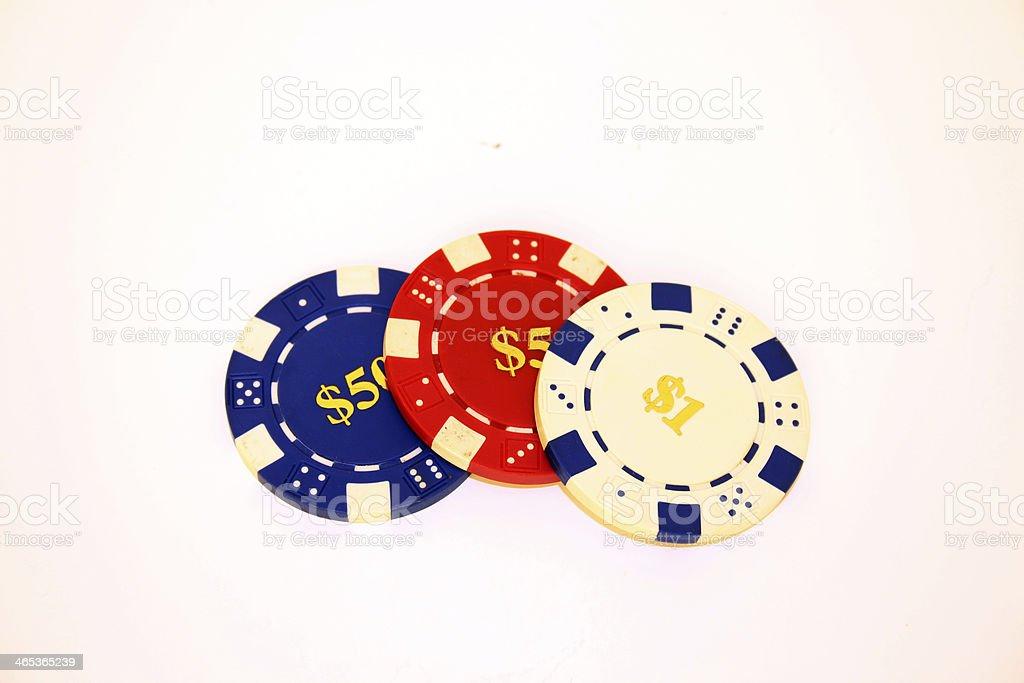 Glücksspiel stock photo