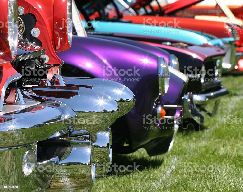 Gleaming Car Show royalty-free stock photo