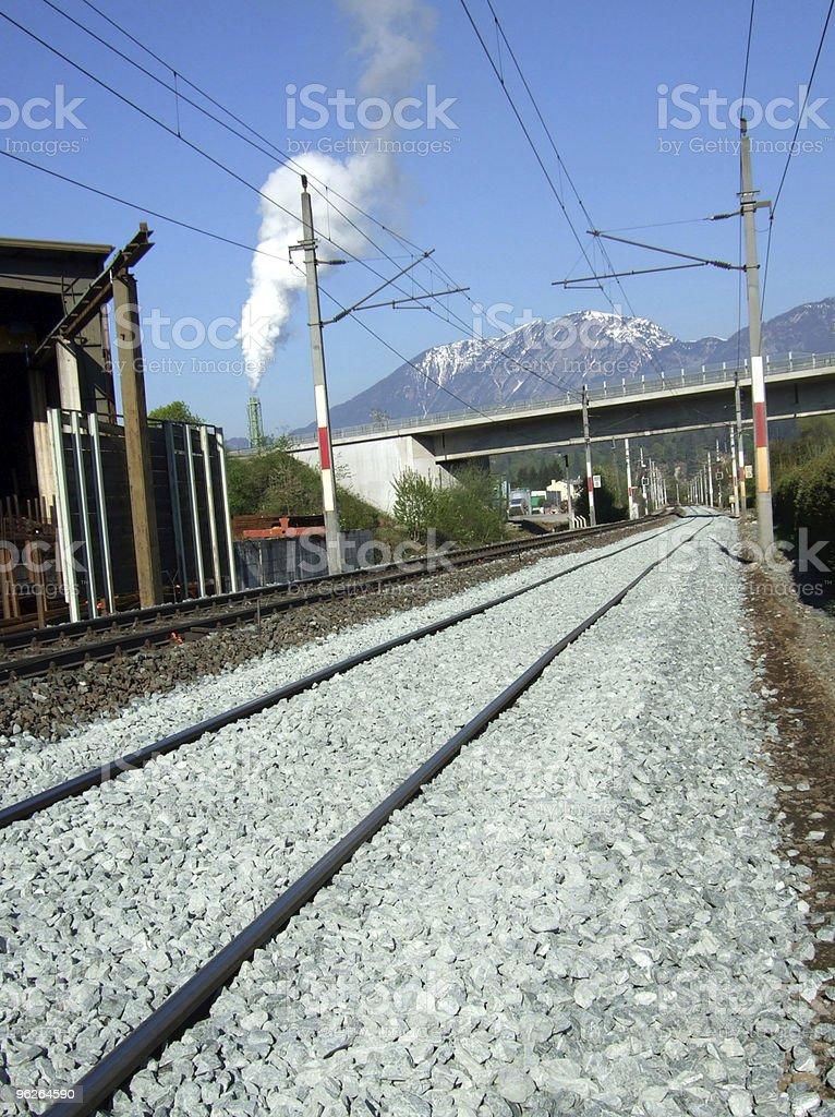 Gleis-Neulage stock photo