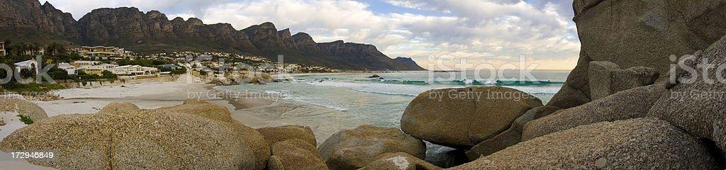 Glen Beach Panoramic royalty-free stock photo