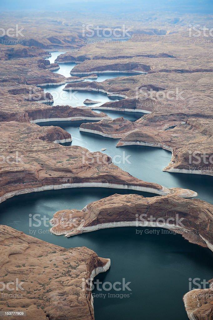 Glen Canyon National Recreation Area royalty-free stock photo