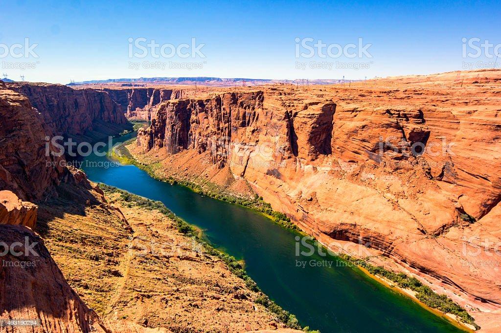 Glen Canyon stock photo