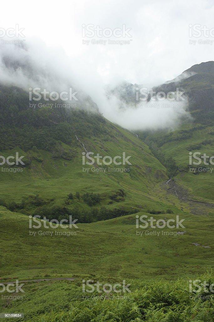 Glen Coe in den Highlands von Schottland – Foto