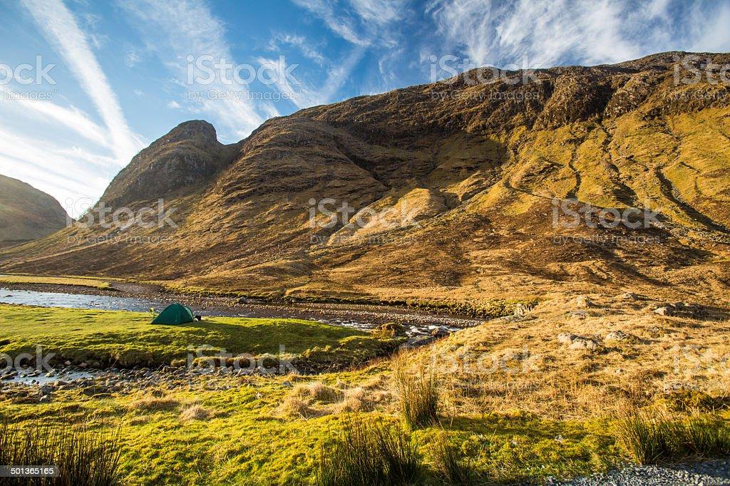 Glen Etive, Scottish Higland, Scotland, UK stock photo
