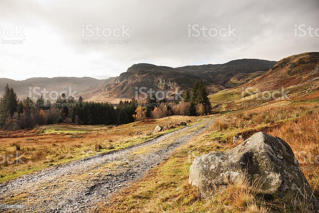 Glen Lednock stock photo