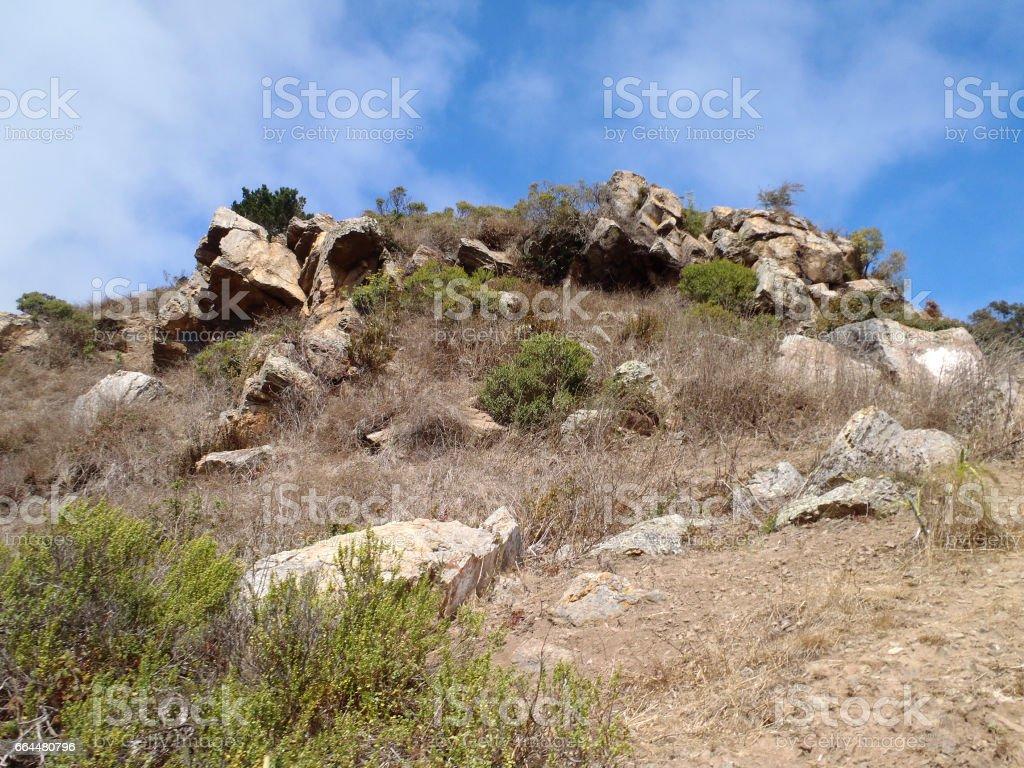 Glen Park Canyon Cliffs stock photo
