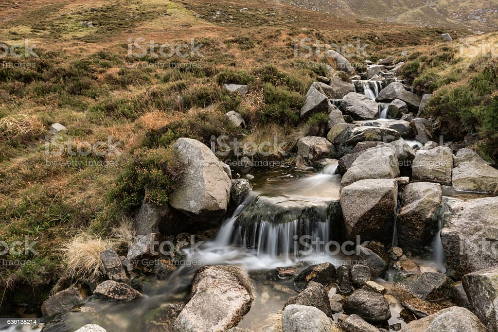 Glen River, Mourne Mountains, Northern Ireland stock photo