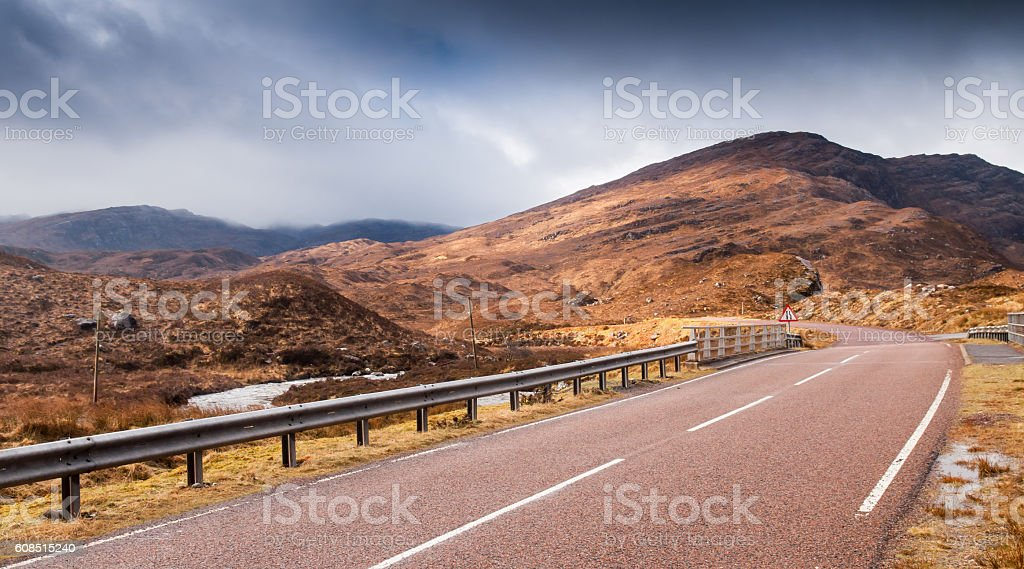 Glen Torridon stock photo