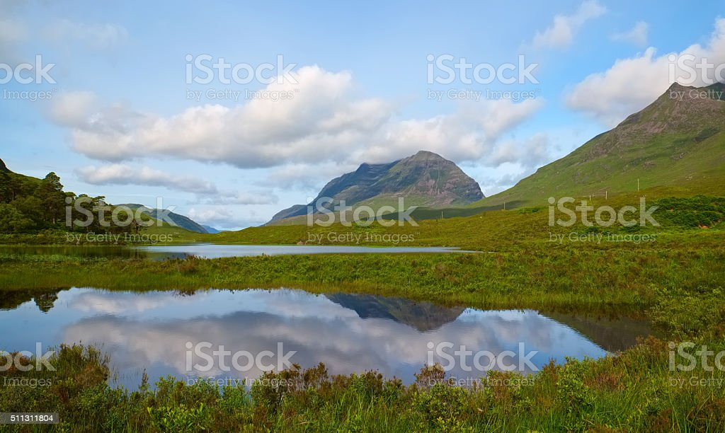Glen Torridon Scenic stock photo