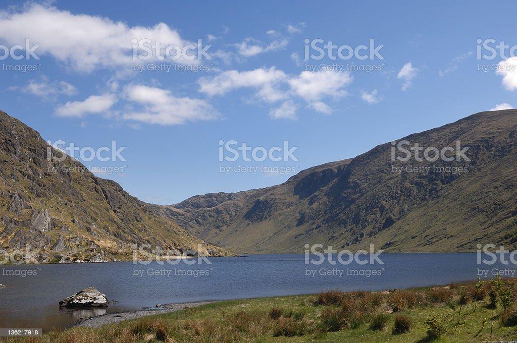 Glenbeg Lake stock photo
