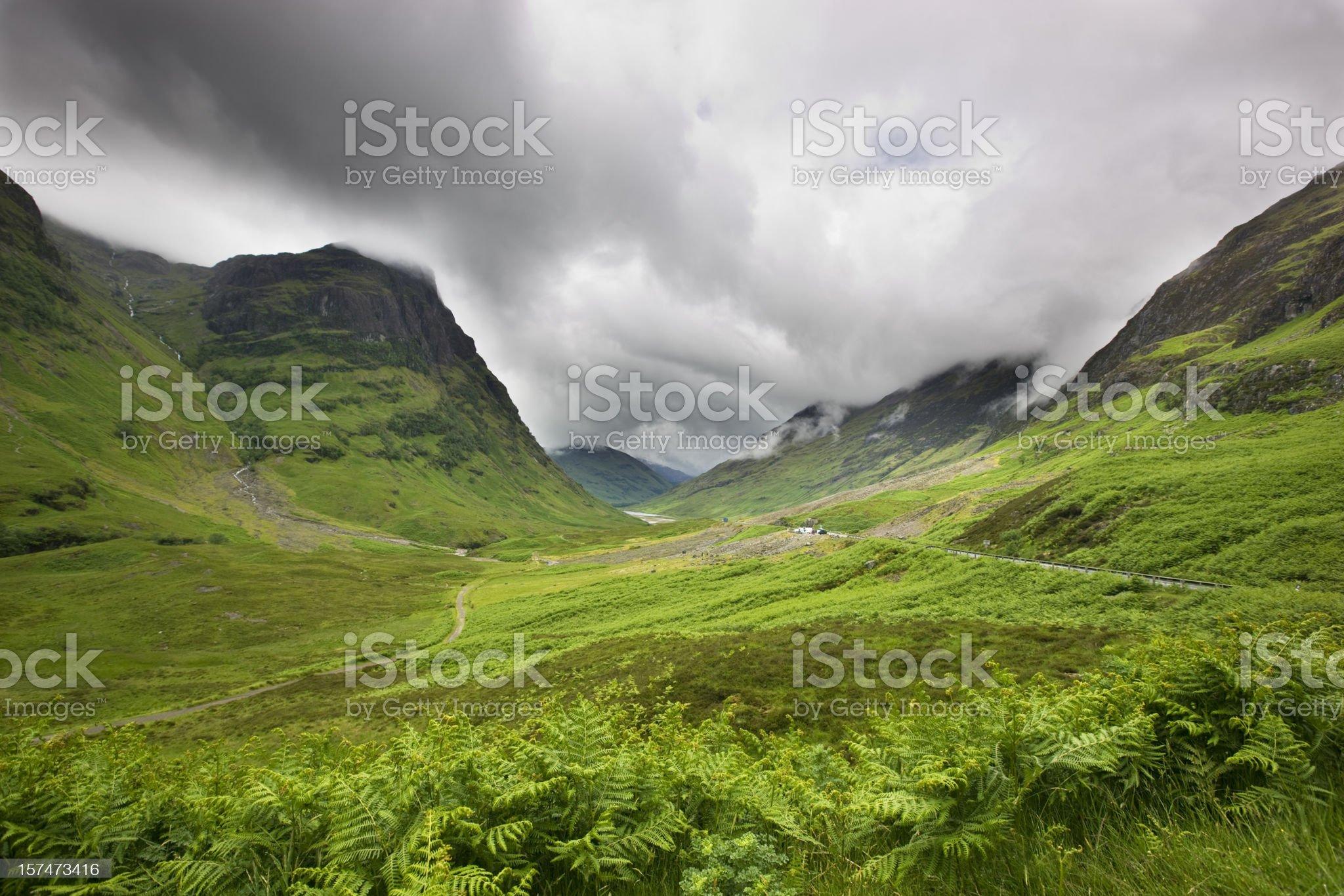 Glencoe royalty-free stock photo