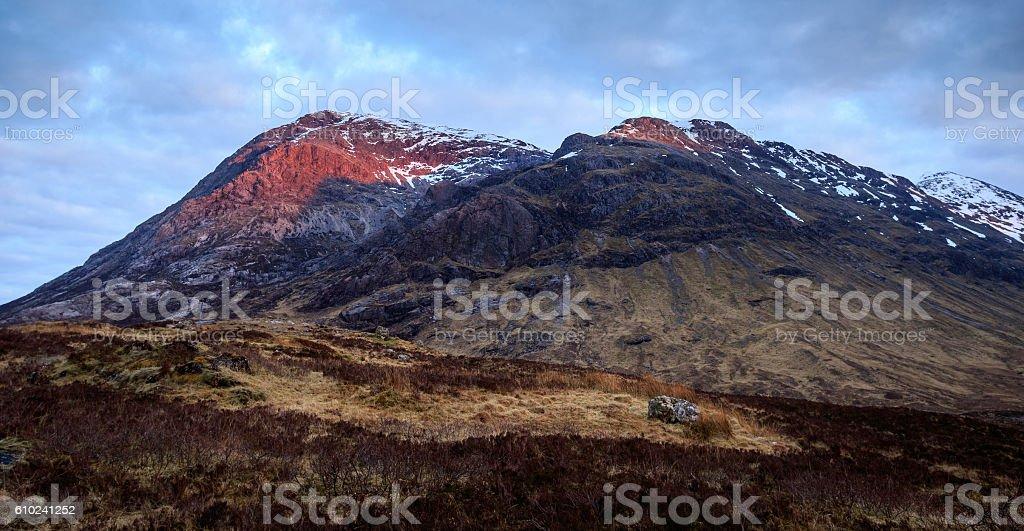 Glencoe, Scotland stock photo