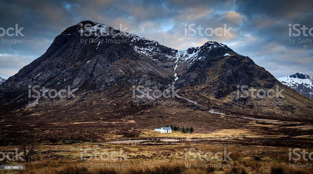 Glencoe, Scotland UK. stock photo