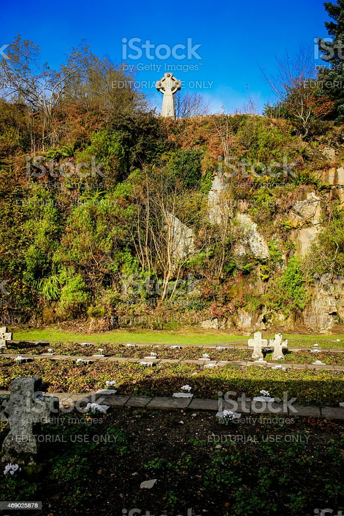 Glencree German War Cemetery stock photo