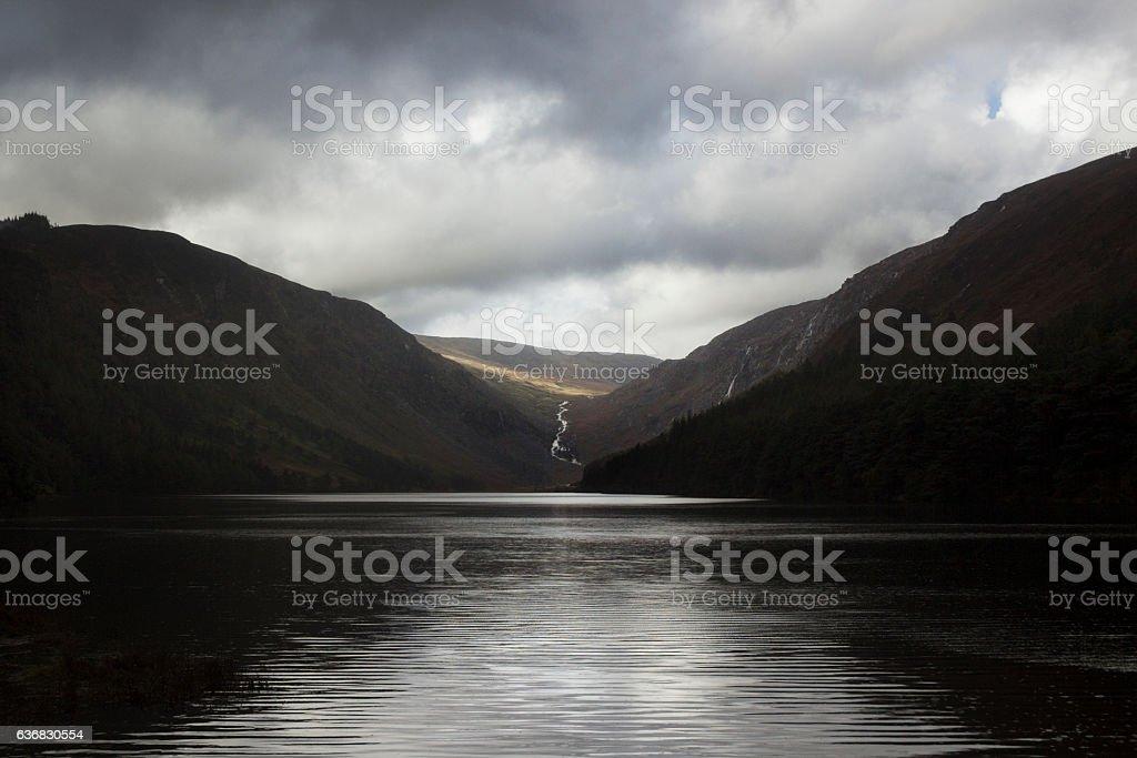Glendalough, co. Wicklow, Ireland stock photo