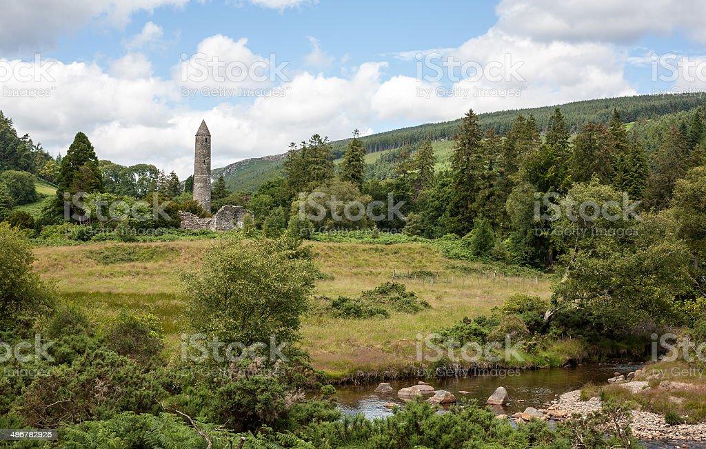 Glendalough royalty-free stock photo