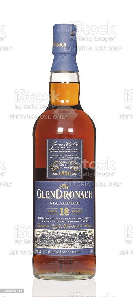 Glendronach whisky royalty-free stock photo