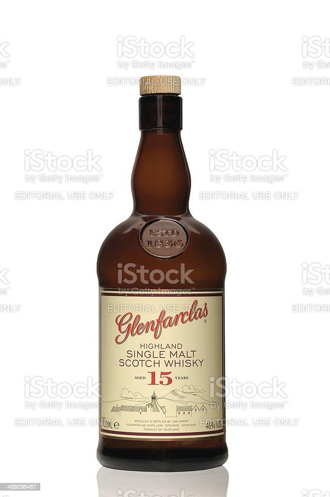 Glenfarclas 15 years royalty-free stock photo