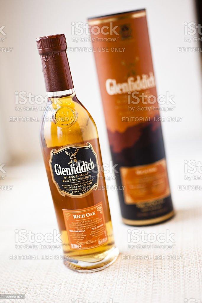 Glenfiddich royalty-free stock photo