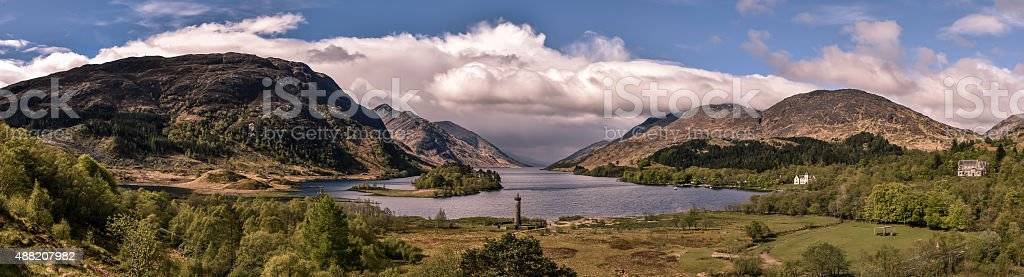 Glenfinnan stock photo