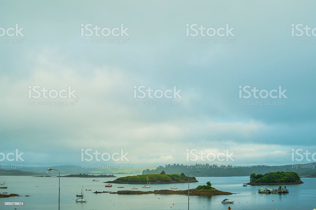 Glengarriff Bay, Wild Atlantic Way, Co. Cork, Ireland stock photo