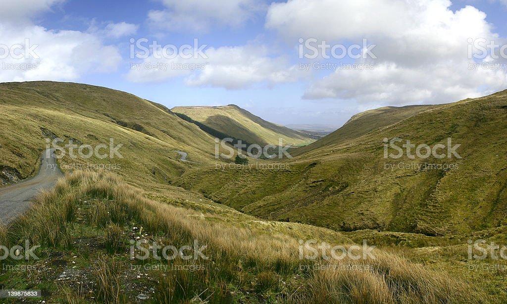 Glengesh Pass royalty-free stock photo