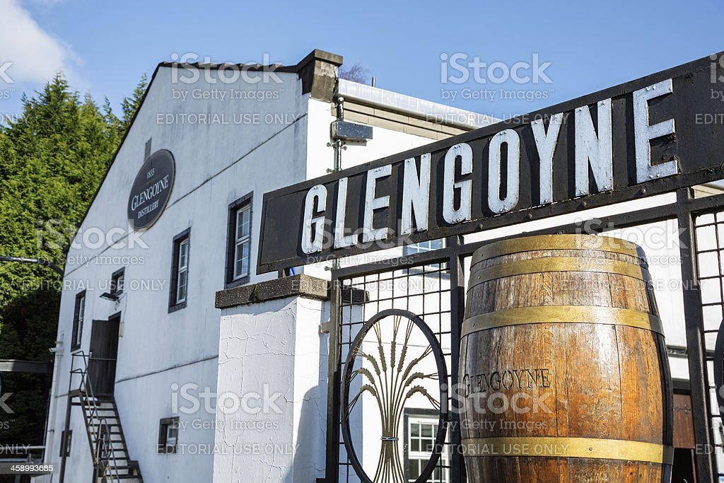 Glengoyne Distillery royalty-free stock photo