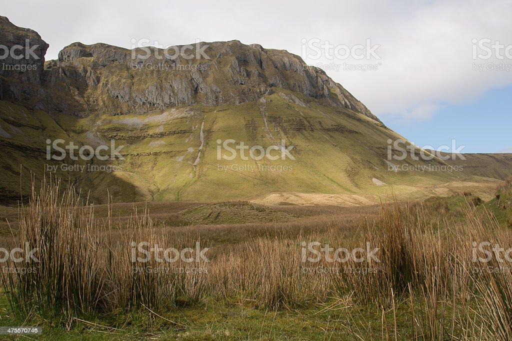 Gleniff Horseshoe, Irland royalty-free stock photo