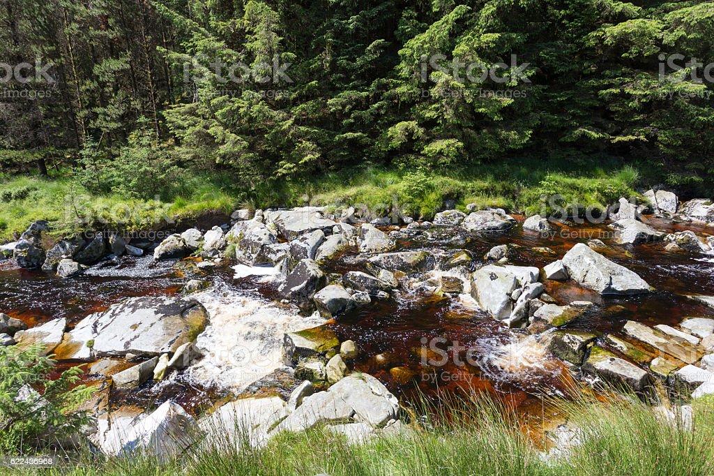 Glenmacnass River royalty-free stock photo