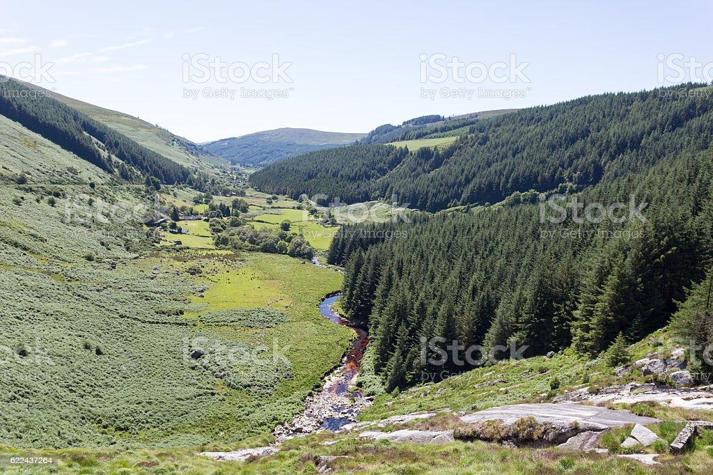 Glenmacnass Warerfall stock photo