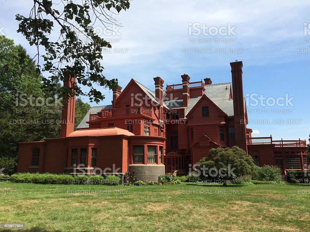 Glenmont Estate, West Orange, New Jersey stock photo