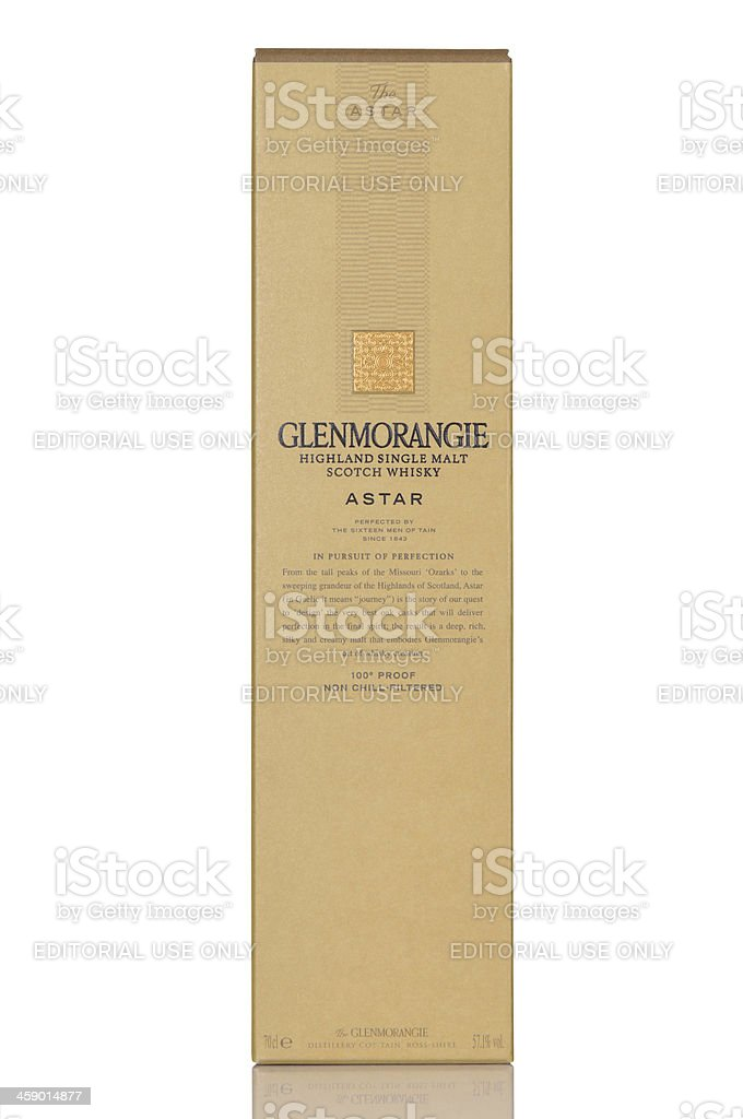 Glenmorangie Astar stock photo