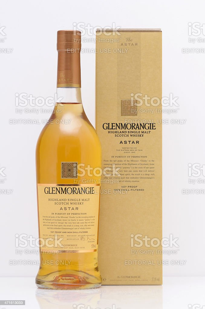 Glenmorangie whisky stock photo