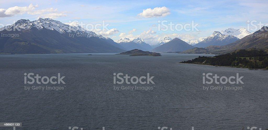 Glenorchy, New Zealand royalty-free stock photo