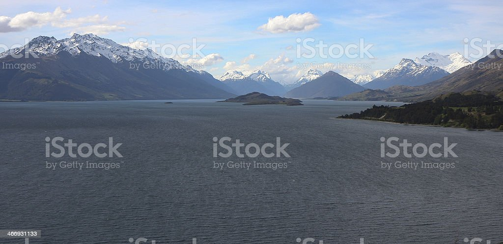 Glenorchy, New Zealand stock photo
