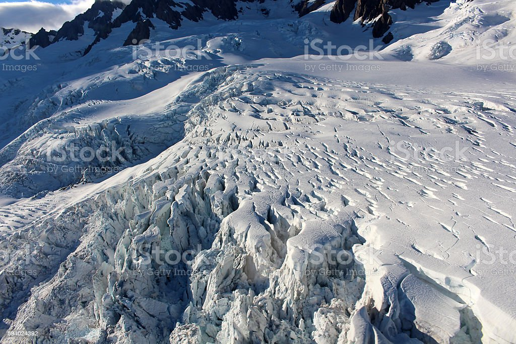 Gletscher stock photo