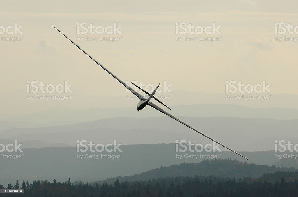 Glider royalty-free stock photo