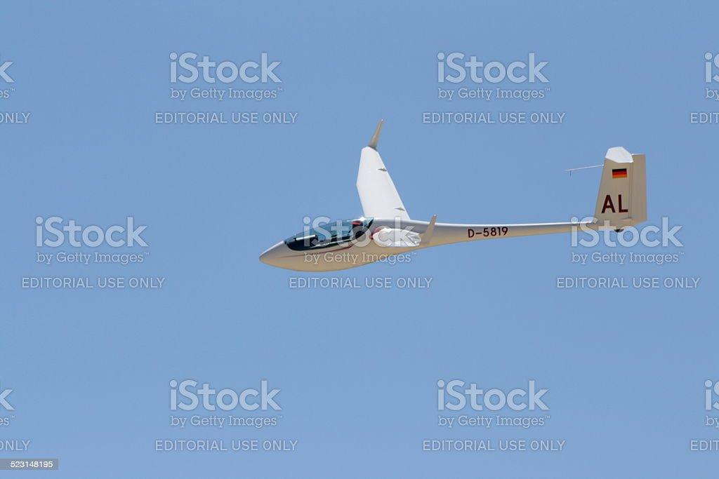 Glider stock photo